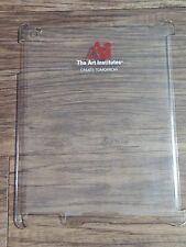 IPAD 2 & New IPAD Clear Tablet Hard Case Ai The Art Institutes Advertising  EDU
