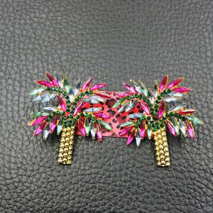New Fashion Betsey Johnson Rare Alloy Rhinestone Tree Stud Earring Jewelry