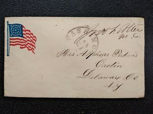 Civil War: Wash, DC (1861) Congressional Free Frank Cover to Croton, NY