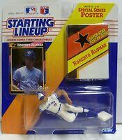 1992  ROBERTO ALOMAR - Starting Lineup - SLU -Sports Figurine-TORONTO BLUE JAYS