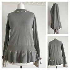 Laetitia Mem Grey Jumper Size 10 (U)