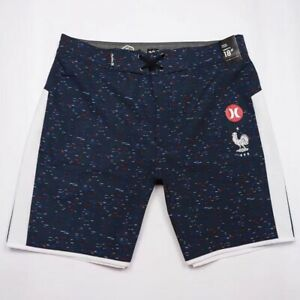 Hurley 4Way Stretch Surf Pants Men Swim Board Shorts Quick-Dry Beach Shorts E535