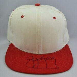 Jim Kelly Bills Autographed Football Hat w/ COA 091721MGL
