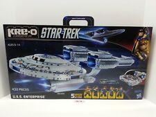Kreo Star Trek U.S.S. Enterprise Spacecraft KRE-O Minifigures Kirk Spock A3137