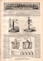 1878 Scientific American Supp November 9-Meteorites;Paris Exhibition Impression