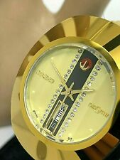 Rado Diastar Swiss Automatic Gold Tone Stainless Steel Men's Watch 648.0413.3
