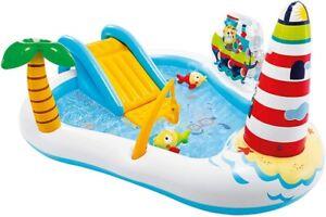 INTEX Fishing Fun Play Center Spielcenter, Farbenspiel Multi Color 57162NP