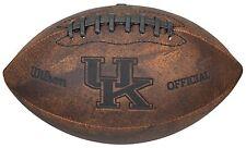 "NCAA Kentucky Wildcats 9"" Throwback Football"