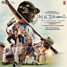 M.S. DHONI - THE UNTOLD STORY - BOLLYWOOD ORIGINAL SOUNDTRACK CD - FREE POST