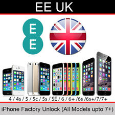 EE UK iPhone Factory Unlock Service (All Models up to 7 Plus)