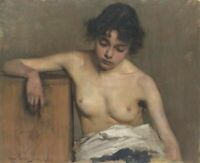 """high quality oil painting handpainted on canvas """"Nude"""""""
