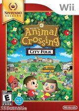 Animal Crossing City Folk (Nintendo Wii, 2008) BRAND NEW