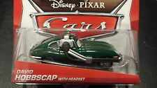 DISNEY PIXAR CARS DAVID HOBBSCAP HEADSET 2014 SAVE 5% WORLDWIDE FAST SHIP