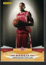 09-10 Panini Jermaine Taylor RC #332 Rockets
