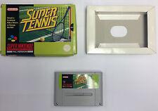 Super Tennis - Super Nintendo (SNES) - Boxed - No Manual