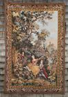 Large Paris Panneaux Gobelins French Romantic Tapestry Jacquard Wall Hanging NR