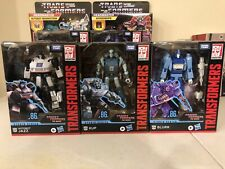 Transformers The Movie Studio Series Deluxe Class JAZZ KUP and BLURR 86-1,2,3