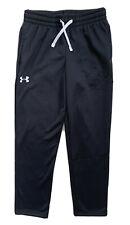 Under Armour Boys Fleece Athletic Pants Sweatpants Black 1345515 Nwt Medium Xl