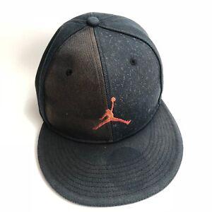 Vintage Air Jordan Jumpman Hat Cap Fitted Size 7 56 cm Distressed Cotton