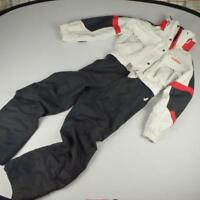 Schoffel Ski Suit Jacket Trousers Sz UK 16 Eur 42 Red Black White Womens Hood