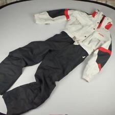 Schoffel Ski Jacket Trousers Sz UK 16 Eur 42 Red Black White Womens Ladies Hood