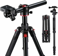 K&F Concept 60'' Aluminium DSLR Camera Tripod Monopod Horizontal,360° Ball Head