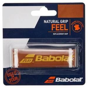 Babolat Natural Leather Replacement Tennis Grip Tan. Free UK postage.