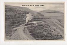 View On The Vale Of Rheidol Railway Vintage Postcard 864a