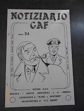 NOTIZIARIO GAF ANNO 4 n° 4 (24) - 1984 - CRONOLOGIA DI BLAKE E MORTIMER