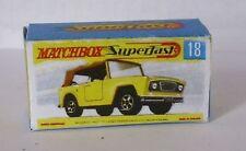 Repro Box Matchbox Superfast Nr.18 Field Car
