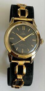 Vintage Tudor Automatic ROTOR Self Winding Black Dial Tudor Rolex 10k GF Prince