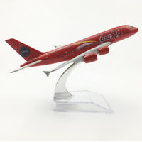 1:400 Scale 16cm COLA Airlines Airbus A380 Metal Alloy Airplane Aircraft Model