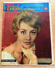 SERIE SORRISI E CANZONI  ANNO IX  N° 21 1960 ANNA MARIA GAMBINERI ORIGINALE !!!!