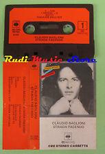 MC CLAUDIO BAGLIONI Strada facendo 1981 PRIMA STAMPA ITALY CBS no cd lp dvd vhs