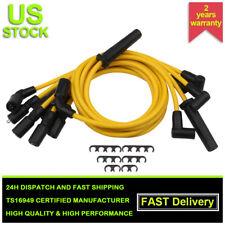 7x 8mm SPARK PLUG Ignition WIRE 7673 5X1192 For Chevy GMC C1500 JIMMY ISUZU 4.3L