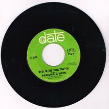 DATE 2-1574 Peaches & Herb Love Is Strange / It's True I Love You VG/VG 7 45