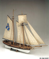 "Historic, Authentic Wooden Model Ship Kit by Mamoli: the ""Marseille"""