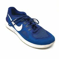 Men's Nike Free RN 2017 Running Shoes Sneakers Size 9 Blue White Green X13