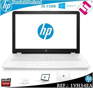 "Laptop HP 15-BS036NS I5 7200U 15.6 "" W10 8GB DDR4 1TB 2,5GHZ AMD Radeon 520 2GB"
