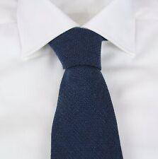 New Tom Ford Luxurious 100% Cashmere Aqua Blue Tie NWT