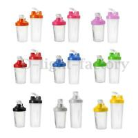 400/600ml BPAfree Shake Protein Blender Shaker Mixer Cup Drink Whisk Bottle