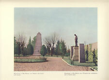 Italy The Battle Of Magenta Monument Of Mac-Mahon Ossuary Of Fallen Colour Print