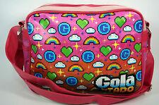 Gola Nuevo Redford Bolso escolar tipo mensajero PIXELADO ROSA Multi-color