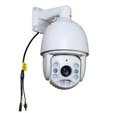 CCTV 36X 1080P IR PTZ Hi-Speed Dome Camera TVI/ AHD/ CVI/ CVBS 4 in 1 Outdoor