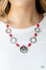 Zen Trend Red Necklace By: Paparazzi
