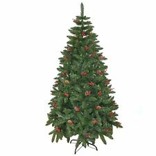 5ft pre decorato artificiale Albero di Natale Tradizionale Natale Indoor Decor 150cm