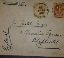 O) 1899 Australia -Australian States Victoria -Queen, Southern Cross Sct A43 Tw