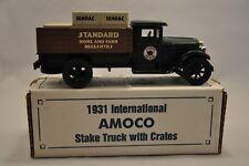 ERTL AMOCO 1931 INTERNATIONAL AMOCO STAKE TRUCK BANK SERIES MADE IN USA