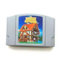 64 bit USA Version Video Game Cartridge Animal Crossing Conkee English Language
