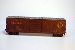 Roundhouse HO Scale 50' Single Door Boxcar (Erie Lackawana)